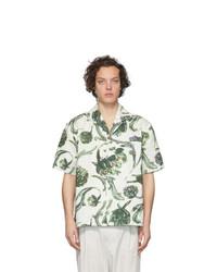 Jacquemus White La Chemise Jean Short Sleeve Shirt