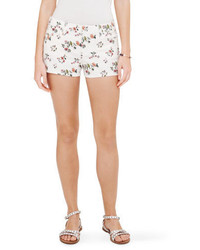 Club Monaco Julia Floral Denim Short