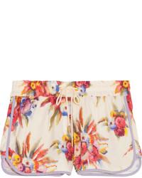 Zimmermann Instinct Floral Print Boardshorts