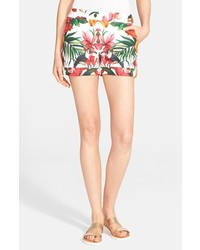 Ted Baker London Quellia Toucan Print Shorts