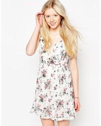 Jasmine Skater Dress In Floral Print