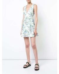 Zimmermann V Neck Floral Dress