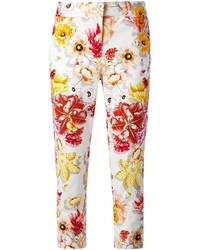Salvatore Ferragamo Floral Print Trouser