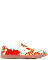 Stella McCartney Floral Slip On Sneakers