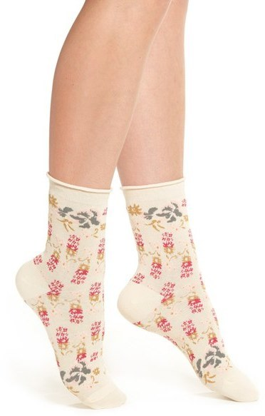 cheaper fashion styles incredible prices $12, Urban Outfitters Free People Floral Ankle Socks