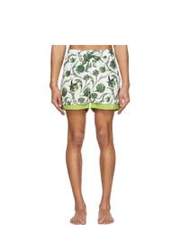 Jacquemus Green Le Double Swim Shorts