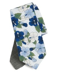 Edit by The Tie Bar Floral Cotton Tie