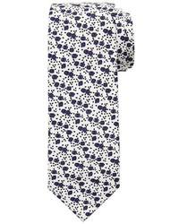 Banana Republic Italian Cotton Micro Floral Tie