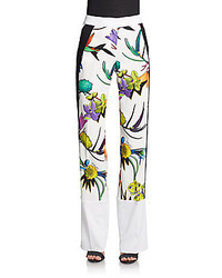 Just cavalli wide leg printed trousers medium 195335