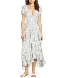 Lira Clothing Daniella Floral Print Wrap Dress