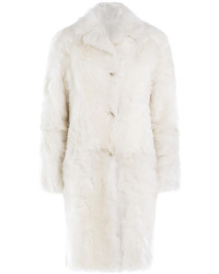 Jil Sander Volterra Shearling And Lamb Leather Coat