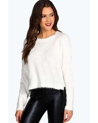 Boohoo Ruby Fluffy Knit Jumper