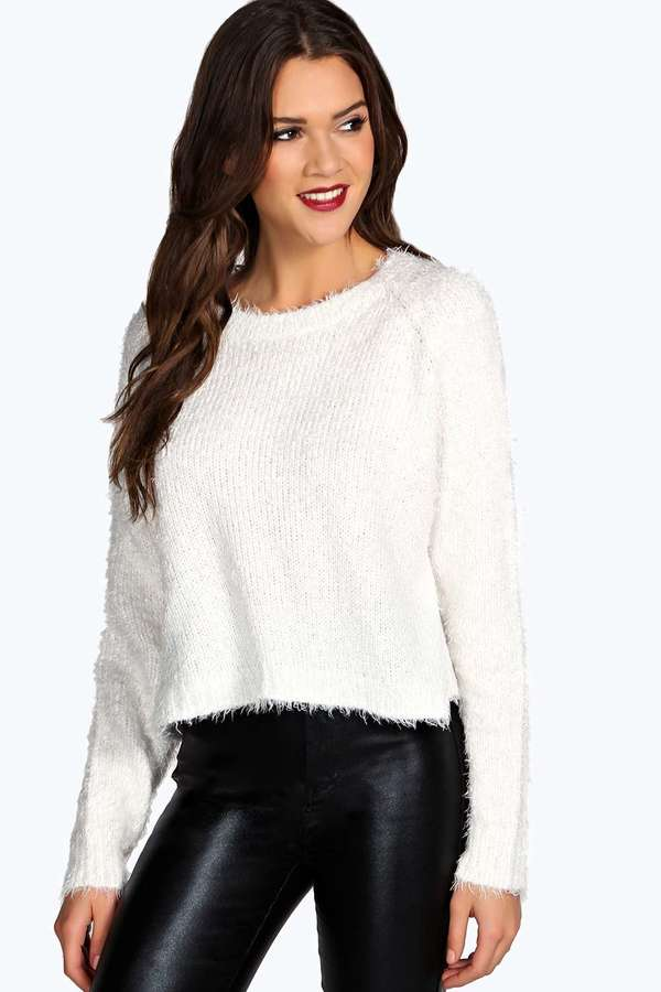 Boohoo Ruby Fluffy Knit Jumper | Where to buy & how to wear