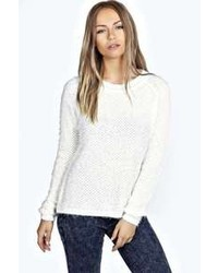 Boohoo Vivien Fluffy Knit Jumper