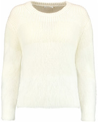 Chloé Textured Knit Angora Blend Sweater
