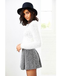 MinkPink Freckles Fuzzy Cropped Sweater | Where to buy & how to wear