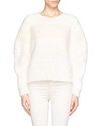 Nobrand Mohair Angora Colourblock Sweater