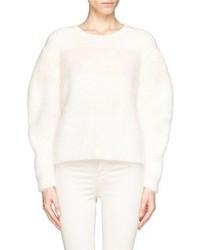 Nobrand Mohair Angora Colourblock Sweater