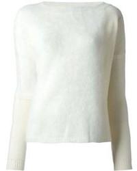 Pinko Textured Raglan Sleeve Sweater