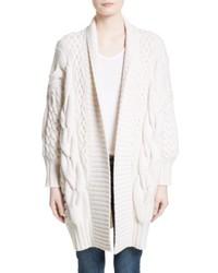Camrosbrook wool cashmere open cardigan medium 5169860