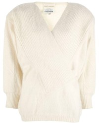 Claude montana vintage wrapover jumper medium 164335
