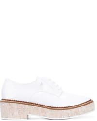 Armani Jeans Platform Lace Up Shoes