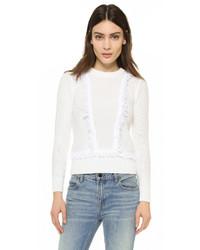 Club Monaco Martuska Fringe Sweater