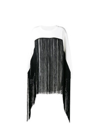 MM6 MAISON MARGIELA Fringed Long Line Sweater