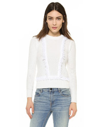 Club Monaco Martuska Fringe Sweater
