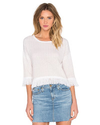 One Grey Day Everyly Fringe Sweater