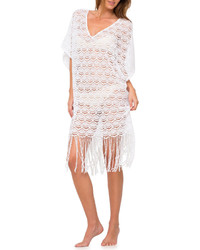Eberjey Bohemian Bride Fringed Coverup