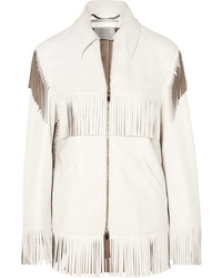 Stella McCartney Fringed Faux Leather Jacket