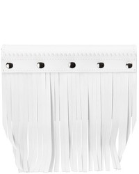 Fringe leather wallet white medium 3665933