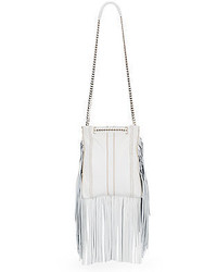 Ramy brook stevie fringe leather shoulder bag medium 349628