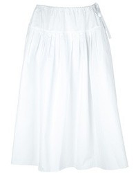 Chloé Pleated A Line Skirt