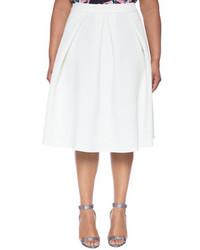 ELOQUII Plus Size Perfect Midi Skirt
