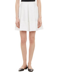 Proenza Schouler Poplin Box Pleat Full Skirt