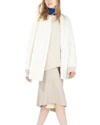 ChicNova Long Sleeves Faux Fur Coat