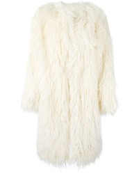 DKNY Faux Fur Coat
