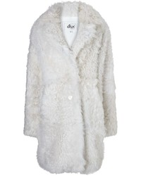 Dlux Winter White Shearling Tillgrado Coat