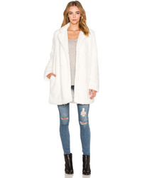 RVCA Warm Me Up Faux Fur Coat