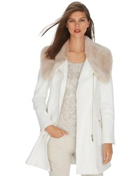 White fur collar coat original 10133301