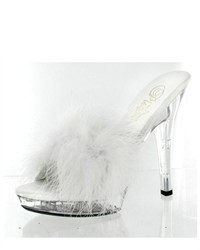 Pleaser Lip 101 8 Fur Sandals Sexy Heels
