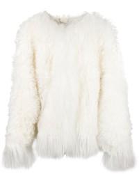 Chloé Chloe Mongolian Shearling Jacket