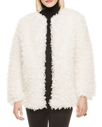 Vince Camuto Curly Faux Fur Jacket