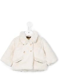 Gold Faux Fur Jacket
