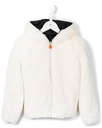 Save The Duck Kids Reversible Padded And Faux Fur Jacket