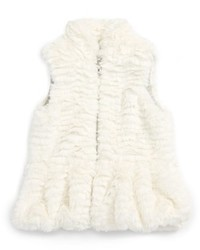 Splendid Infant Girls Faux Fur Vest