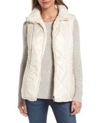 Reversible faux fur vest medium 4952516