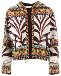 Emilio pucci tribal beaded jacket medium 72301